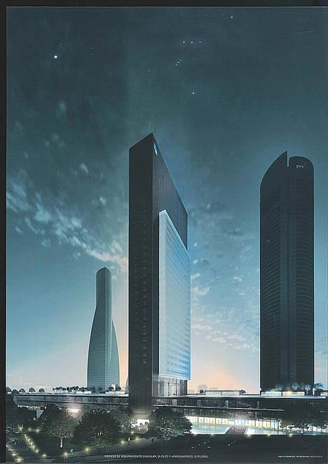 Caleido: el complejo arquitectónico que revitalizará el norte de la Castellana