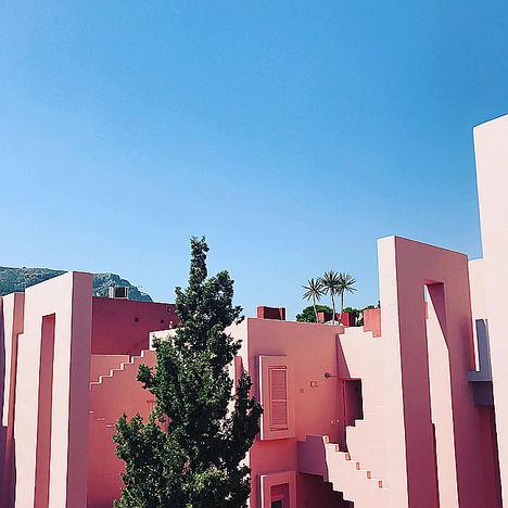 Calpe Muralla Roja.