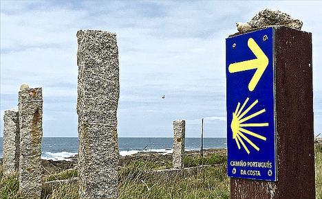 El Camino Portugués de la Costa ya es la ruta con mayor crecimiento