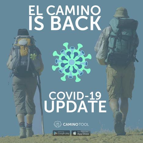 La app CaminoTool crea un registro con más de 1.000 establecimientos del Camino de Santiago adaptados frente al COVID-19