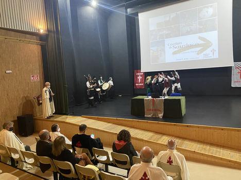 """El Concello de Ordes acogió la Jornada de promoción del Camino Inglés, que organizó la Orden del Camino de Santiago dentro del Proyecto """"Coñece os Camiños"""""""