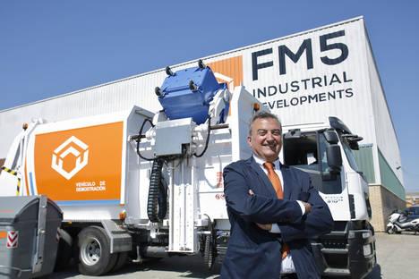 El Grupo Industrial Ferruz desarrolla un nuevo camión recolector de basuras y duplicará la plantilla de su empresa FM5 en dos años, creando 30 nuevos empleos