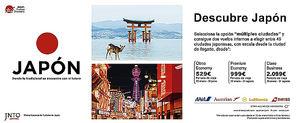 Turismo de Japón y ANA lanzan una campaña para viajar al país desde 529 euros