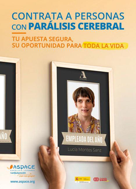Confederación ASPACE hace un llamamiento a las empresas españolas para que contraten a personas con parálisis cerebral