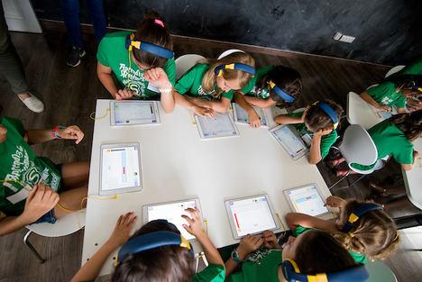 Campamento Smartick para niñas 2018.