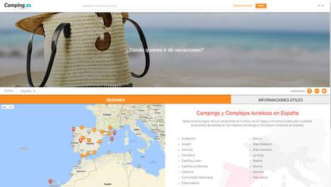 Camping.es el nuevo portal para vacaciones al aire libre