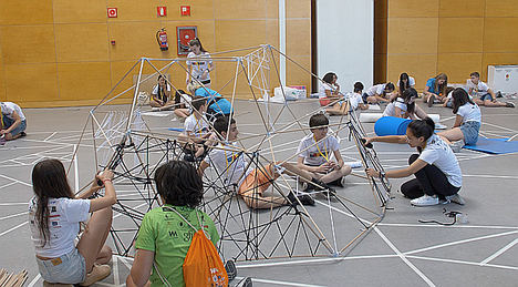 400 niños aprenden a emprender en el Campus IFEMA Thinkids