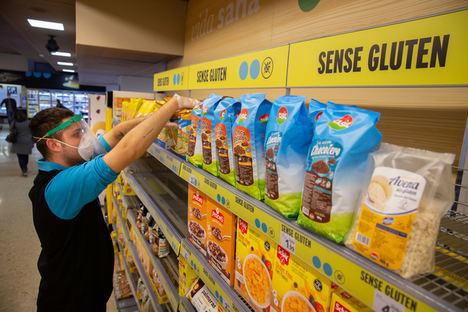 Acuerdo de Caprabo y la Associació Celíacs de Catalunya en la venta de productos sin gluten