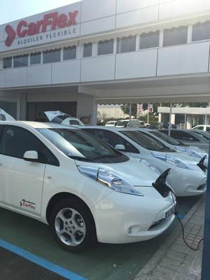 CarFlex pone a disposición de sus clientes una nueva flota de vehículos eléctricos