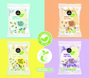 Muria BIO lanza los primeros caramelos de miel ecológica de Europa con envase 100% compostable