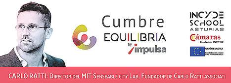 Carlo Ratti, director del MIT Senseable City Lab, abre el Foro INCYDE SCHOOL GIJÓN: Cumbre Equilibria