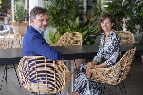 Carlos Cortijo, CEO y fundador de Genetracer Biotech, y Ana Palencia directora de Desarrollo de Negocio de Genetracer Biotech.