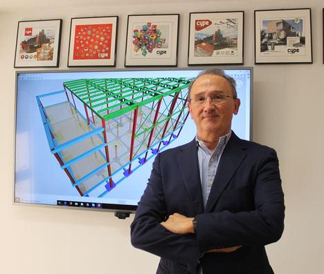 Carlos Fernández, director tecnico CYPE.