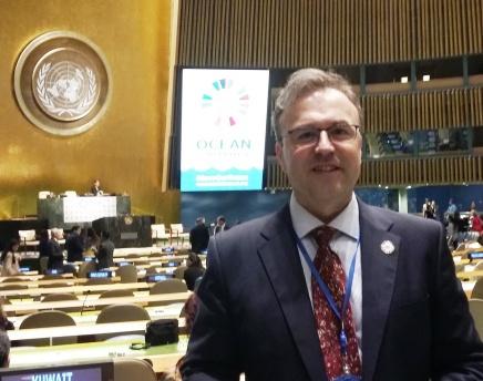El investigador del IEO, Carlos García Soto, nombrado por Naciones Unidas como experto para el Informe Oceánico Mundial