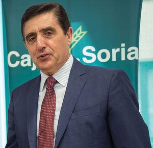 Carlos Martínez Izquierdo, presidente de Caja Rural de Soria.