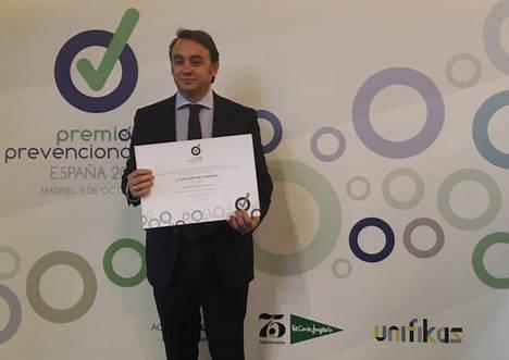 Carlos Martínez, CEO IMF Business School Premios Prevencionar