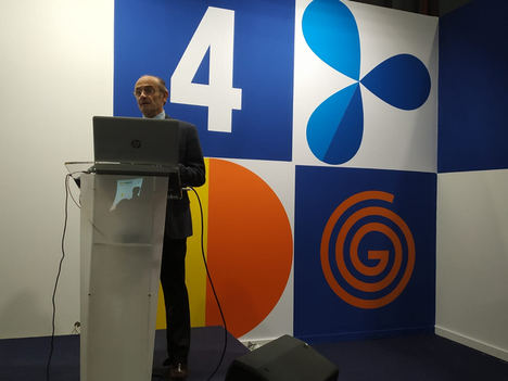 Carlos Navares, experto Eficiencia Energética de Grupo CMC en Genera 2020.