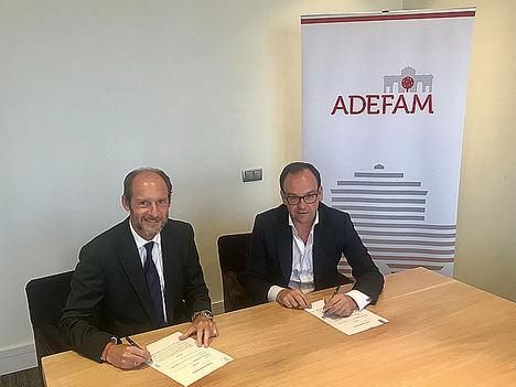 Carlos Rueda (GA&P) y Alberto Z. Alvarez (ADEFAM).