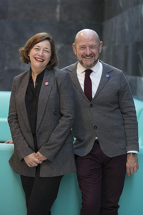 Carlos Urroz y Maribel López, ARCOmadrid.