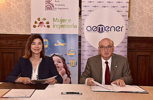 Carmen Becerril, Aemener y Elías Fereres RAI.