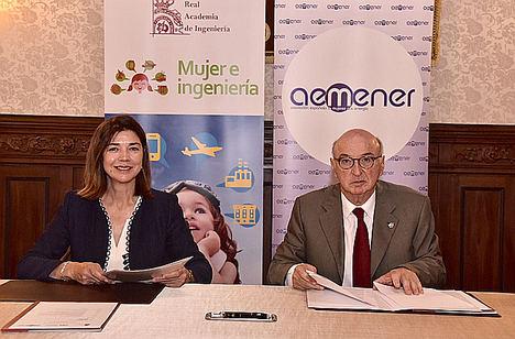 AEMENER y la Real Academia de Ingeniería se unen para impulsar el programa Mujer e Ingeniería en el sector energético