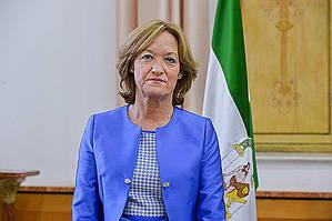 Carmen Ortiz, consejera de Agricultura, Pesca y Desarrollo Rural, Junta de Andalucía.