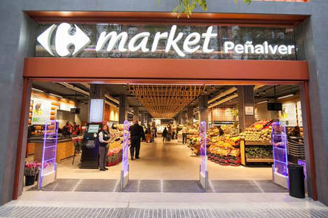 Carrefour presenta un nuevo modelo de supermercado basado en los productos frescos y de mercado