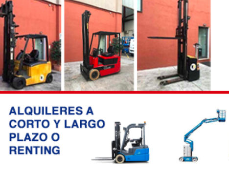 Carretillas TR facilita la adquisición de maquinaria logística con el renting y la venta de ocasión
