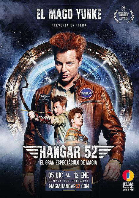 IFEMA estrena Hangar 52, el mayor espectáculo de magia nunca visto en España presentada por el Mago Yunke