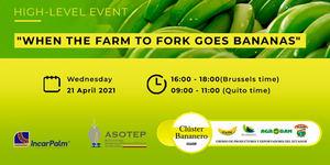"""El Clúster Bananero del Ecuador organiza el """"Banana Day 2021"""", una jornada online sobre la industria del banano y su futuro"""