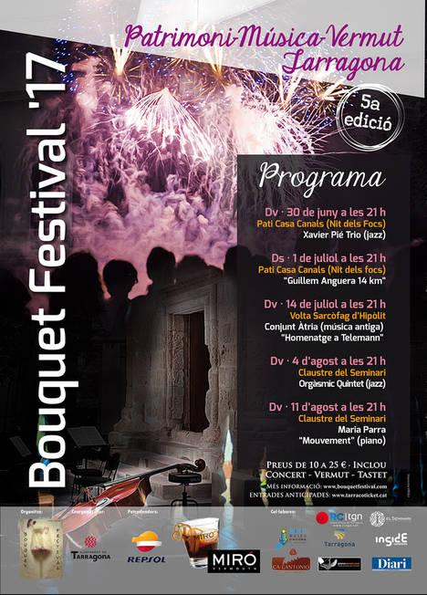 Tarragona apuesta por el talento musical menos conocido en su Bouquet Festival