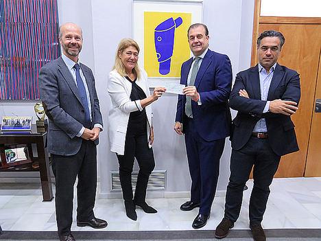 Degroof Petercam y Ética entregan parte de los honorarios de gestión de su SICAV responsable a Casa Caridad y Social Nest