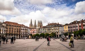 Casa Consistorial, Plaza Mayor, Burgos.