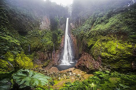 Catarata Bajos del Toro, Costa Rica.