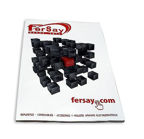 Nuevo lanzamiento en papel del catálogo Fersay con productos marca propia
