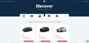 Trive amplía su oferta de coches y ya cuenta con 40.000 usuarios registrados