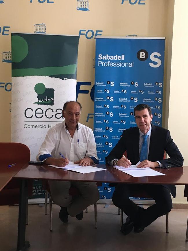 Ceca comercio huelva renueva acuerdo con banco sabadell for Acuerdo clausula suelo banco sabadell