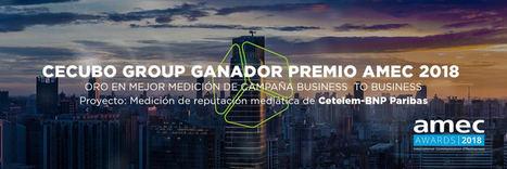 Cecubo Group, única agencia española ganadora en los AMEC Awards por su trabajo para medir la comunicación