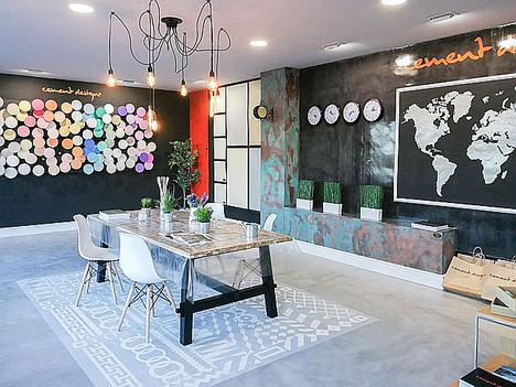 Cement Design Valladolid abre sus puertas