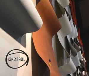 """Cement Roll, el nuevo revestimiento en formato """"rollo"""" de Cement Design"""