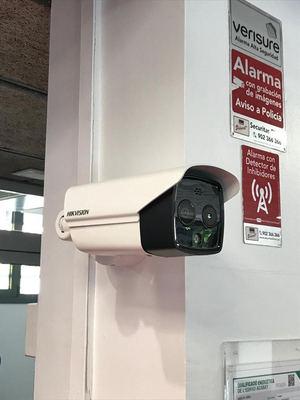 Centre Esportiu Joan Miró instala cámaras térmicas en sus instalaciones de la mano de Checkpoint para ayudar a crear espacios seguros