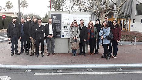 El demostrador del LIFE CERSUDS recibe la visita de representantes de la Comisión Europea