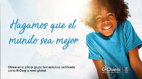 Chiesi es el primer grupo farmacéutico más grande del mundo que recibe la certificación B Corp a nivel global
