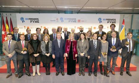 Cristina Cifuentes destaca la labor de las PYMES en la recuperación económica y les transmite el firme apoyo de la Comunidad