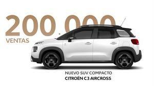 Citroën C3 Aircross, 200.000 unidades vendidas