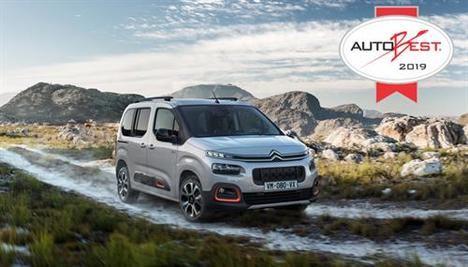 Premio Autobest 2019 para el Citroën Berlingo