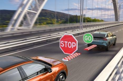 Tecnología de seguridad Citroën para proteger a los peatones