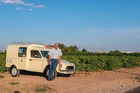 La furgoneta Dyane 6 400 del abuelo Gabriel
