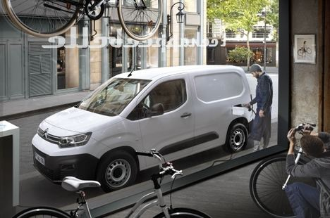 Nuevo Citroën e¨-Berlingo Van