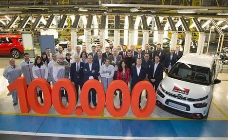 Citroën supera las 100.000 matriculaciones en España en 2018